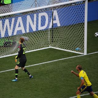 한국, 월드컵 1차전 스웨덴에 0-1 패배