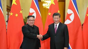 김정은 3차 중국 방문