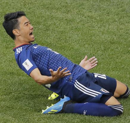 일본, 콜롬비아 2-1 제압…아시아, 남미에 첫 승리