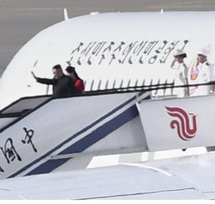 김정은, 시진핑과 두 차례 회동 마치고 귀국…'북중 밀착관계' 과시