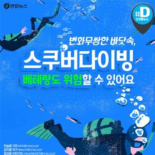 [카드뉴스] 변화무쌍한 바닷속, 스쿠버다이빙 베테랑도 위험할 수 있어요