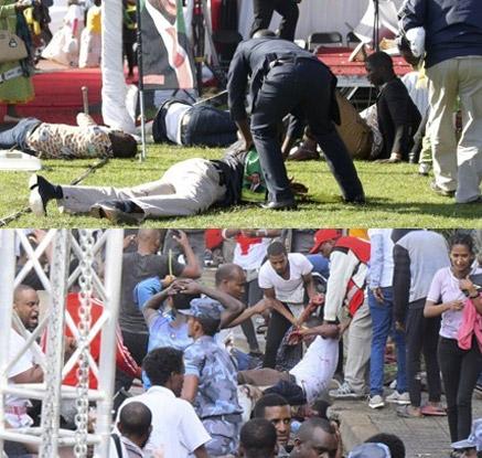 짐바브웨·에티오피아서 각 정상 노린 폭탄 공격