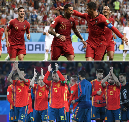 스페인·포르투갈, B조 1·2위로 나란히 16강 진출