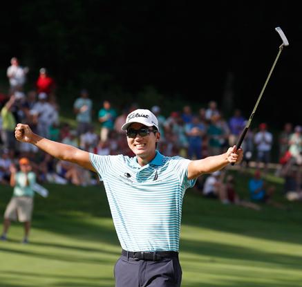 PGA 투어 우승 마이클 김…우승상금 11억7천만원