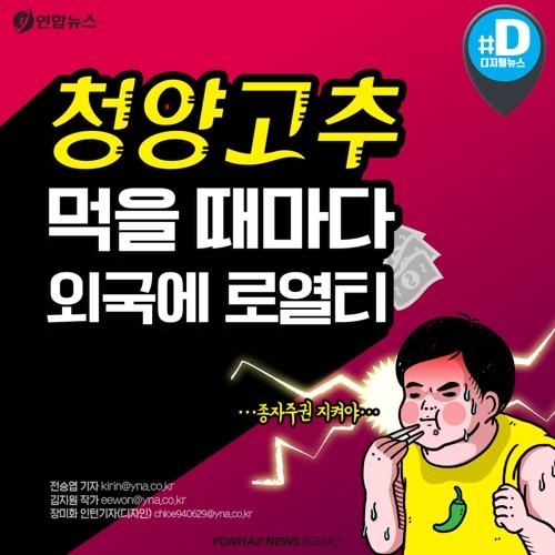 """[카드뉴스] """"청양고추 먹을 때마다 외국에 로열티""""…종자주권 지켜야"""
