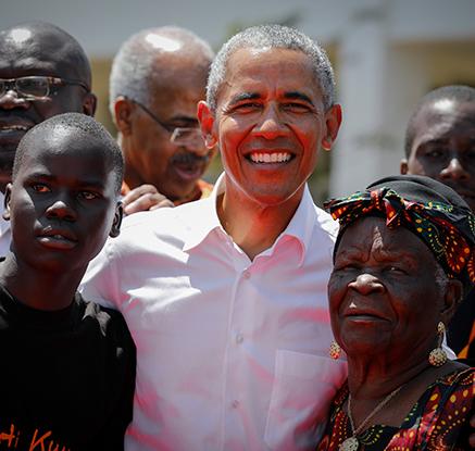 '아버지의 나라' 케냐 방문한 오바마