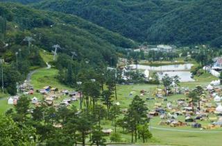 '물·바람으로 쿨한 축제'…원주 오크밸리 캠핑페스티벌