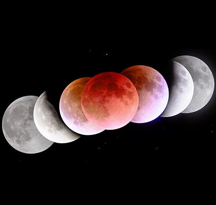 블러드문에 화성까지…내일 새벽 '우주쇼' 열린다