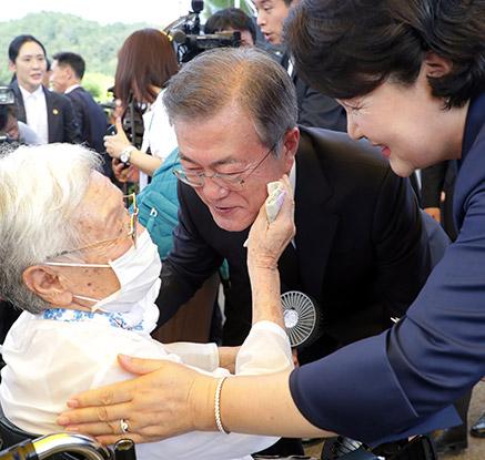'위안부 피해자 기림의 날' 첫 정부 기념식