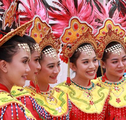 아시안게임, 인도네시아의 미소