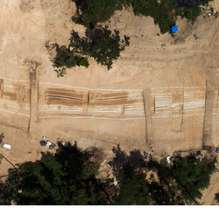 신라·백제 각축지 옥천서 7세기 산상 군사도로 발견