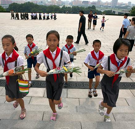 북한의 광복절 풍경은?