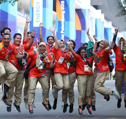 '내일부터 아시아인의 스포츠 축제가 시작됩니다'