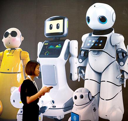 '최첨단 로봇의 향연' 中 베이징 세계 로봇 박람회