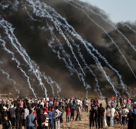 '휴전협상 중인데…' 가자지구 시위대 2명 사망·250명 부상