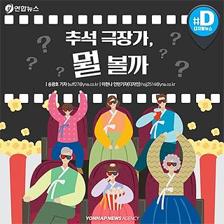 [카드뉴스] 추석 극장가 한국영화 경쟁 치열…제2의 '광해' 나올까