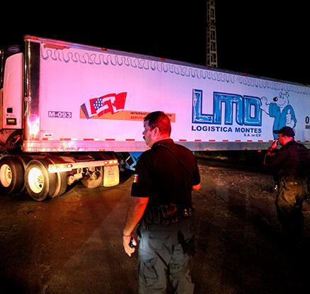멕시코서 신원미상 시신 157구 냉동트럭 보관…관리 책임자 경질