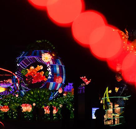 형형색색 화려함에 물들다…중국·베트남의 중추절 축제