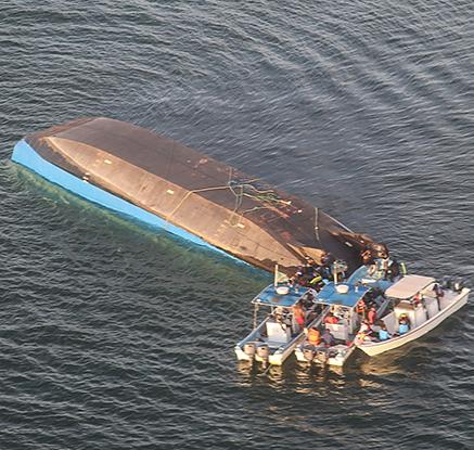 탄자니아 빅토리아 호수서 페리 전복…최소 136명 사망