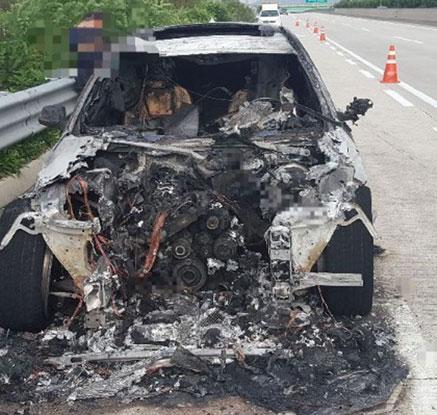 BMW 차량 화재