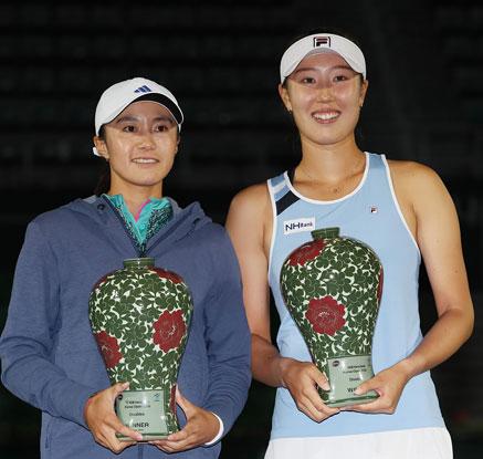 한나래·최지희, 한국 선수로 14년 만에 투어 대회 복식 우승