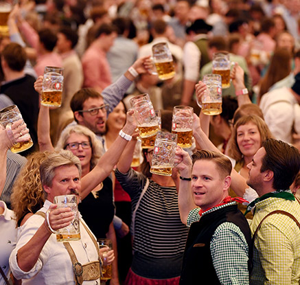 세계 최대 맥주축제 독일 '옥토버페스트' 개막