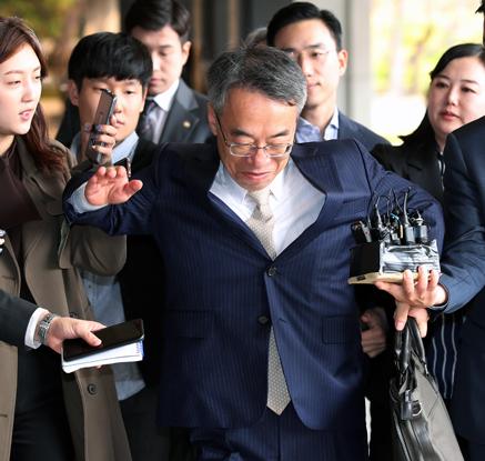 다시 불려 나온 임종헌 전 법원행정처 차장