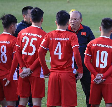 베트남 박항서호, 한국 전지훈련 돌입…10년 만의 스즈키컵 우승 도전