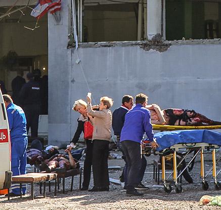"""러시아 크림반도 대학서 총기난사…""""용의자는 재학생"""""""