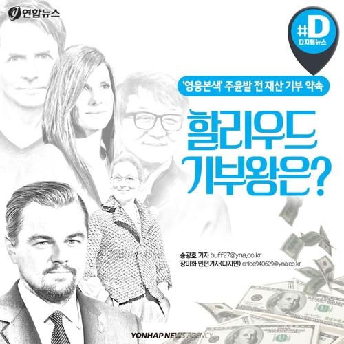[카드뉴스] '영웅본색' 주윤발 전 재산 기부…할리우드 기부왕은?