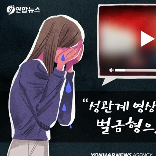 """""""성관계 영상 유포한 전 남친, 벌금형으로 끝났네요"""""""
