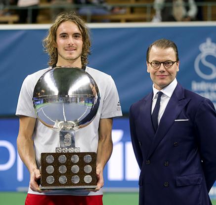 '20살 신예' 치치파스, ATP 투어 스톡홀름 오픈 우승