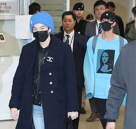 방탄소년단, 월드투어 마치고 52일 만에 귀국