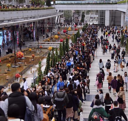 방탄소년단 일본 투어 시작…日팬들 도쿄돔 장사진