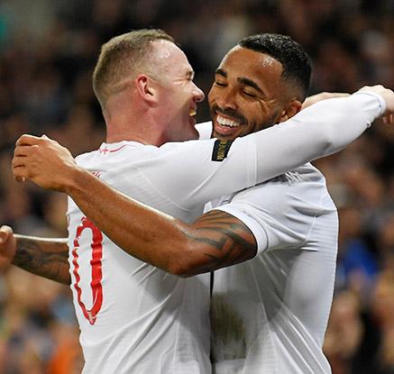 '굿바이 루니'…잉글랜드, 루니 고별전서 미국에 3-0 승리