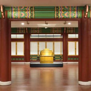 새단장한 '국립고궁박물관' 대한제국실