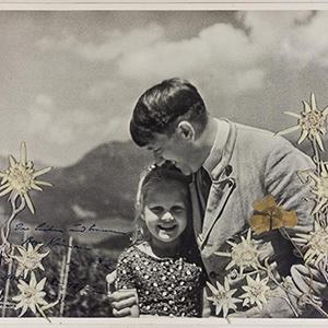 '엉클 히틀러' 자주 만난 유대인 소녀 사진 경매에