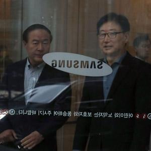 삼성 사장단회의를 마친 후