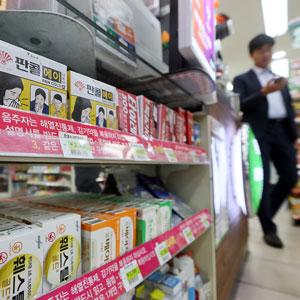 환절기 감기 환자로 편의점 상비약 판매 84% 급증
