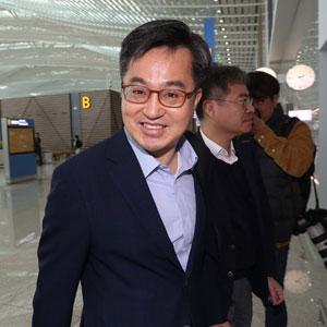 김동연, G20 재무장관 회의 참석차 출국