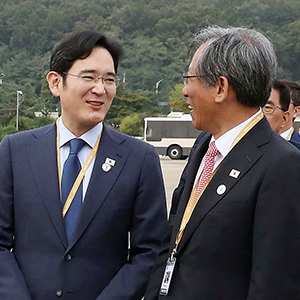 남북정상회담 특별수행단 이재용