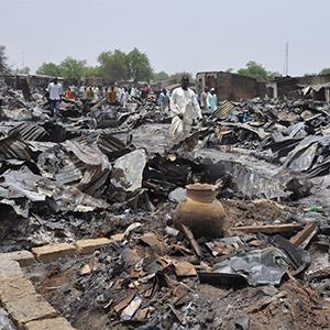 나이지리아군, 작전중 난민촌 오폭…100명 사망