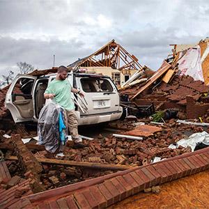 美조지아주 남부에 토네이도…11명 사망·23명 부상