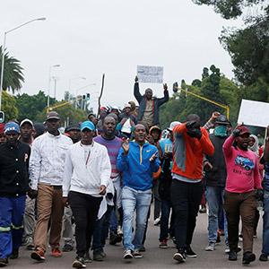남아공서 反이민 폭력시위…136명 체포