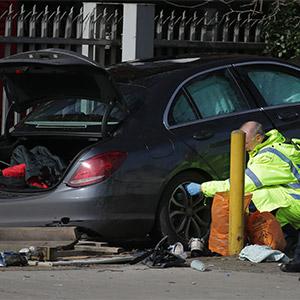 영국 런던서 차량이 인도로 돌진해 5명 부상