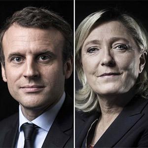 프랑스 대선, 마크롱·르펜 결선 진출