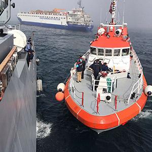 러 군함, 흑해서 화물선 충돌 후 침몰…승조원 전원 구조