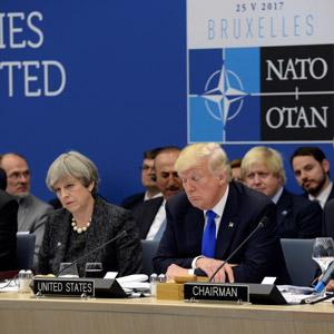 트럼프 처음 참석한 나토 정상회의