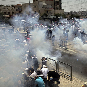 예루살렘 성지 인근서 이-팔 유혈충돌…3명 사망·200명 부상