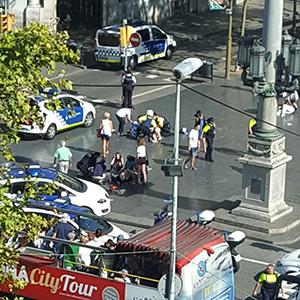 스페인 캄브릴스에서 2차 테러…경찰관 등 7명 부상
